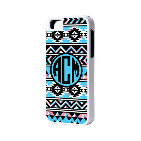 Ethnic Monogram iPhone 6 Plus 6 5S 5 5C 4 Tough Case 931 - Acyc - 1