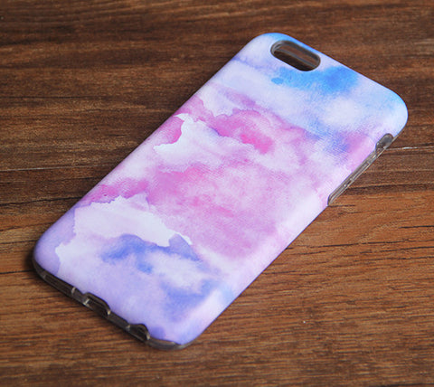 Watercolor Painting Pastel iPhone 6s 6 Case/Plus/5S/5C/5/4S Dual Layer Durable Tough Case #933 - Acyc - 1