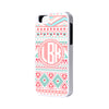 Pink Aztec Monogram iPhone 6 Plus 6 5S 5 5C 4S 4S 4 Tough Case 935 - Acyc - 1