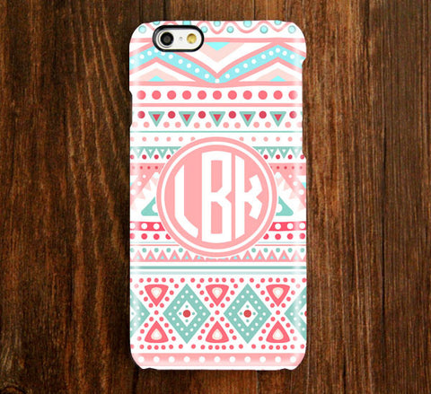 Native Ethnic Monogram 6 Plus 6 5S 5C 5 4 Protective Case 935 - Acyc - 1