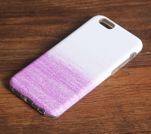 Gradient Color Sparkle Pink iPhone 6s 6 Case/Plus/5S/5C/5/4S Dual Layer Durable Tough Case #941 - Acyc - 1