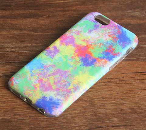 Watercolor Rainbow Color Mix iPhone 6s 6 Case/Plus/5S/5C/5/4S Dual Layer Durable Tough Case #953 - Acyc - 1