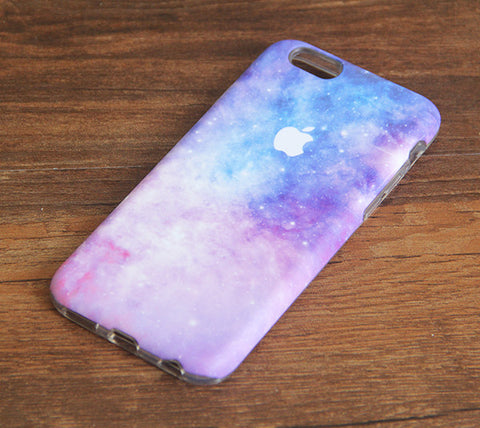 Nebula Galaxy Pastel iPhone 6s 6 Case/Plus/5S/5C/5/4S Dual Layer Durable Tough Case #960 - Acyc - 1