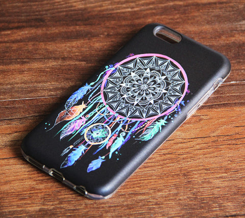 Abstract Dreamcatcher iPhone 6s 6 Case/Plus/5S/5C/5/4S Dual Layer Durable Tough Case #963 - Acyc - 1