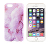 Marble Purple Pastel Print iPhone 6s 6 Case/Plus/5S/5C/5/4S Dual Layer Durable Tough Case #967 - Acyc - 1