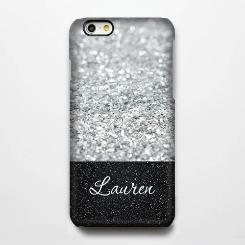 Glitter Custom iPhone 6S Plus 6S 6 5S 5 5C 4  Dual Layer Durable Tough Case #983 - Acyc - 1