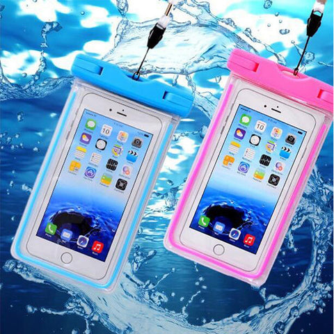 Universal Waterproof Case, Floating Dry Bag Dirtproof Shockproof Snowproof for Outdoor Activities - Acyc - 1