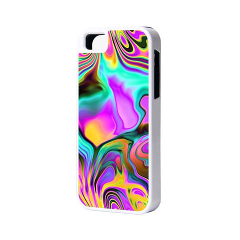 Abstract Color iPhone 6 Plus 6 5S 5 5C 4 Rubber Case - Acyc - 1