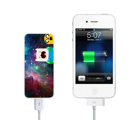 Galaxy Adventure Time Power Bank External Battery Charger for iPhone and Samsung Andriod - Acyc - 1