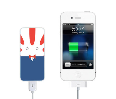 Adventure Time Peppermint Butler Power Bank External Battery Charger for iPhone and Samsung Andriod - Acyc - 1