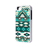 Green Aztec iPhone 6 Plus 6 5S 5 5C 4 Rubber Case - Acyc - 1