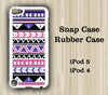 Aztec Tribal Geometric iPod Touch 5 Case iPod Touch 4 Case - Acyc - 2
