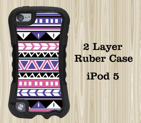 Aztec Tribal Geometric iPod Touch 5 Case iPod Touch 4 Case - Acyc - 1