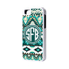 Aztec Tribal Monogram iPhone 6 Plus 6 5S 5 5C 4 Cases - Acyc - 1
