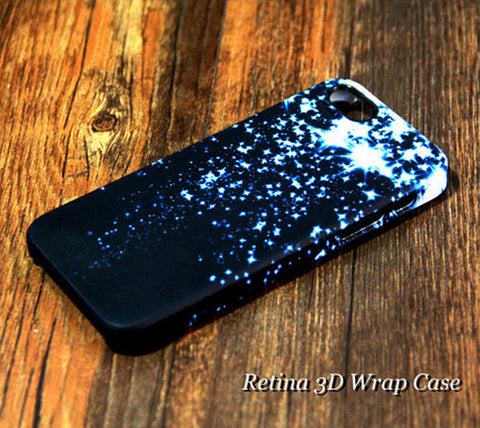 Blue Star Falling iPhone 6s Plus/6/5S/5C/5/4S/4 Dual Layer Durable Tough Case #231 - Acyc - 1