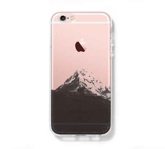 Iphone 6s Clear Case With Design Mountain Iphone 6 Case