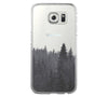 Forest Fog Samsung Galaxy S6 Edge Clear Case S6 Case S5 Transparent Cover iPhone 6s plus Case - Acyc - 2