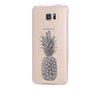 Pineapple Fruit Samsung Galaxy S6 Edge Clear Case S6 Case S5 Transparent Cover iPhone 6s plus Case - Acyc - 2