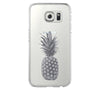 Pineapple Fruit Samsung Galaxy S6 Edge Clear Case S6 Case S5 Transparent Cover iPhone 6s plus Case - Acyc - 1