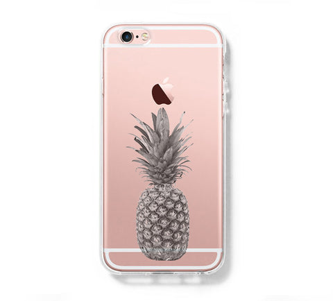 Pineapple Fruit iPhone 6s Clear Case iPhone 6 plus Cover iPhone 5s 5 5c Transparent Case Samsung Galaxy S6 Edge S6 Case - Acyc - 1