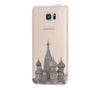 Moscow Kremlin Russia Cityscape Samsung Galaxy S6 Edge Clear Case S6 Case S5 Transparent Cover iPhone 6s plus Case - Acyc - 2