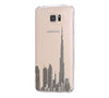 Burj Dubai of the United Arab Emirates Samsung Galaxy S6 Edge Clear Case S6 Case S5 Transparent Cover iPhone 6s plus Case - Acyc - 2