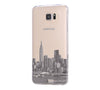 New York City Skyline Hudson River Samsung Galaxy S6 Edge Clear Case S6 Case S5 Transparent Cover iPhone 6s plus Case - Acyc - 2