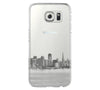 Urban San Francisco Skyline  Samsung Galaxy S6 Edge Clear Case S6 Case S5 Transparent Cover iPhone 6s plus Case - Acyc - 1