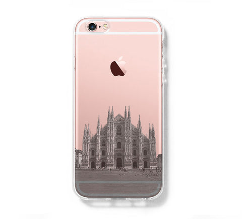 Milan Cathedral  iPhone 6s Clear Case iPhone 6 plus Cover iPhone 5s 5 5c Transparent Case Samsung Galaxy S6 Edge S6 Case - Acyc - 1