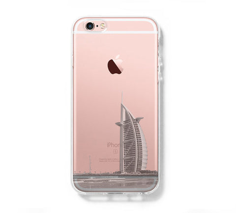 Dubai United Arab Emirates iPhone 6s Clear Case iPhone 6 plus Cover iPhone 5s 5 5c Transparent Case  Samsung Galaxy S6 Edge S6 Case - Acyc - 1