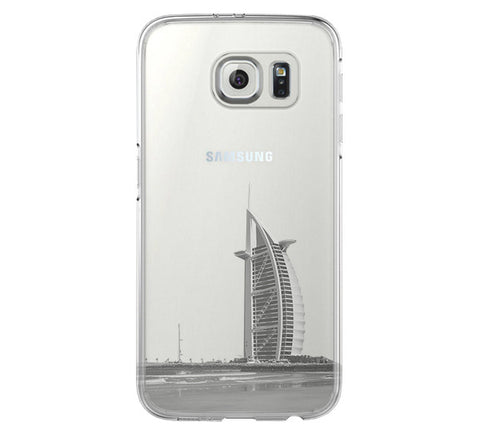 Sailing Boat Seagull  Samsung Galaxy S6 Edge Clear Case S6 Case S5 Transparent Cover iPhone 6s plus Case - Acyc - 1