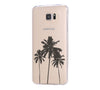 Palm Tree California Samsung Galaxy S6 Edge Clear Case S6 Case S5 Transparent Cover iPhone 6s plus Case - Acyc - 2