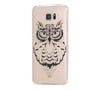 Cute OWL Animal Samsung Galaxy S6 Edge Clear Case Galaxy S6 Transparnet Case S5 Hard Case iPhone 6s Thin Case - Acyc - 2