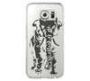 Adorable Elephant Animal Samsung Galaxy S6 Edge Clear Case Galaxy S6 Transparnet Case S5 Hard Case iPhone Crystal  Case - Acyc - 1