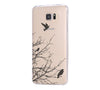 Flying Bird Tree Samsung Galaxy S6 Edge Clear Case Galaxy S6 Transparnet Case S5 Hard Case iPhone Crystal  Case - Acyc - 1