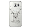 Tribal Deer Samsung Galaxy S6 Edge Clear Case Galaxy S6 Transparnet Case S5 Hard Case iPhone Crystal  Case - Acyc - 2
