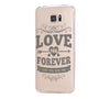 Love Forever Samsung Galaxy S6 Edge Clear Case Galaxy S6 Transparnet Case S5 Hard Case iPhone Crystal  Case - Acyc - 2
