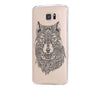 Tribal Wolf Samsung Galaxy S6 Edge Clear Case Galaxy S6 Transparnet Case S5 Hard Case iPhone Crystal  Case - Acyc - 2