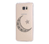 Ethnic Moon Star Samsung Galaxy S6 Edge Clear Case Galaxy S6 Transparnet Case S5 Hard Case iPhone Crystal  Case - Acyc - 2