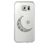 Ethnic Moon Star Samsung Galaxy S6 Edge Clear Case Galaxy S6 Transparnet Case S5 Hard Case iPhone Crystal  Case - Acyc - 1