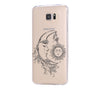 Moon Fariy Tale  Samsung Galaxy S6 Edge Clear Case Galaxy S6 Transparnet Case S5 Hard Case iPhone Crystal  Case - Acyc - 1