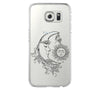 Moon Fariy Tale  Samsung Galaxy S6 Edge Clear Case Galaxy S6 Transparnet Case S5 Hard Case iPhone Crystal  Case - Acyc - 2
