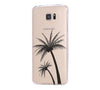 Palm Tree Samsung Galaxy S6 Edge Clear Case Galaxy S6 Transparnet Case S5 Hard Case iPhone Crystal  Case - Acyc - 1