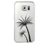 Palm Tree Samsung Galaxy S6 Edge Clear Case Galaxy S6 Transparnet Case S5 Hard Case iPhone Crystal  Case - Acyc - 2