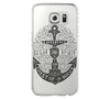 Anchor Sailor Spirit Samsung Galaxy S6 Edge Clear Case Galaxy S6 Transparnet Case S5 Hard Case iPhone Crystal  Case - Acyc - 2