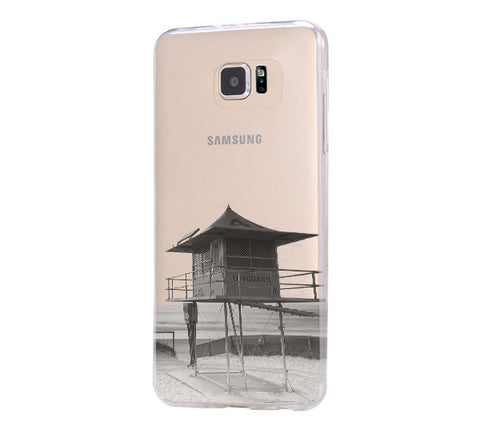 Australia gold coast Samsung Galaxy S6 Edge Clear Case Galaxy S6 Transparnet Case S5 Hard Case iPhone Crystal  Case - Acyc - 1