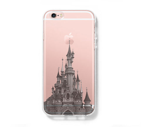 Disneyland Paris iPhone 6s 6 Clear Case iPhone 6 plus Cover iPhone 5s 5 5c Transparent Case Galaxy S6 Edge S6 S5 Case - Acyc - 1