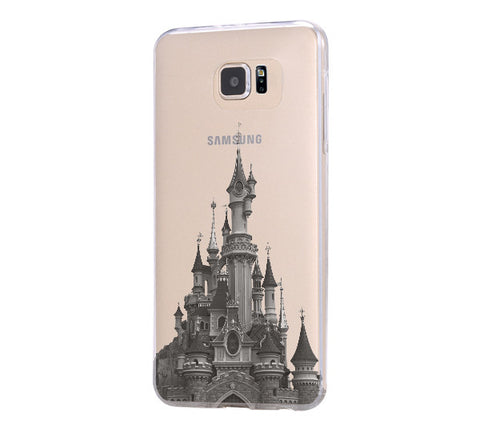 Disneyland Paris Samsung Galaxy S6 Edge Clear Case Galaxy S6 Transparnet Case S5 Hard Case iPhone Crystal  Case - Acyc - 1