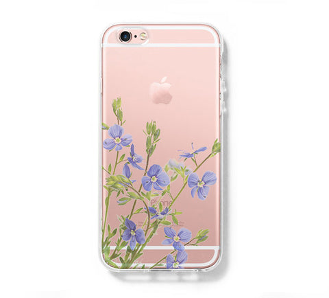 Flower Spring iPhone 6s 6 Clear Case iPhone 6 plus Cover iPhone 5s 5 5c Transparent Case Galaxy S6 Edge S6 S5 Case - Acyc - 1