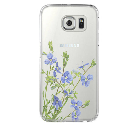 Flower Spring Samsung Galaxy S6 Edge Clear Case Galaxy S6 Transparnet Case S5 Hard Case iPhone Crystal  Case - Acyc - 1